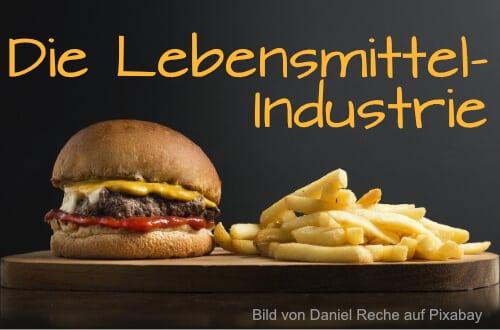 Lebensmittelindustrie-Hamburger