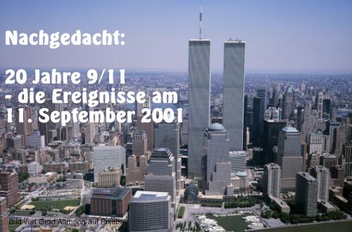 New York 9/11 WTC 1 und 2